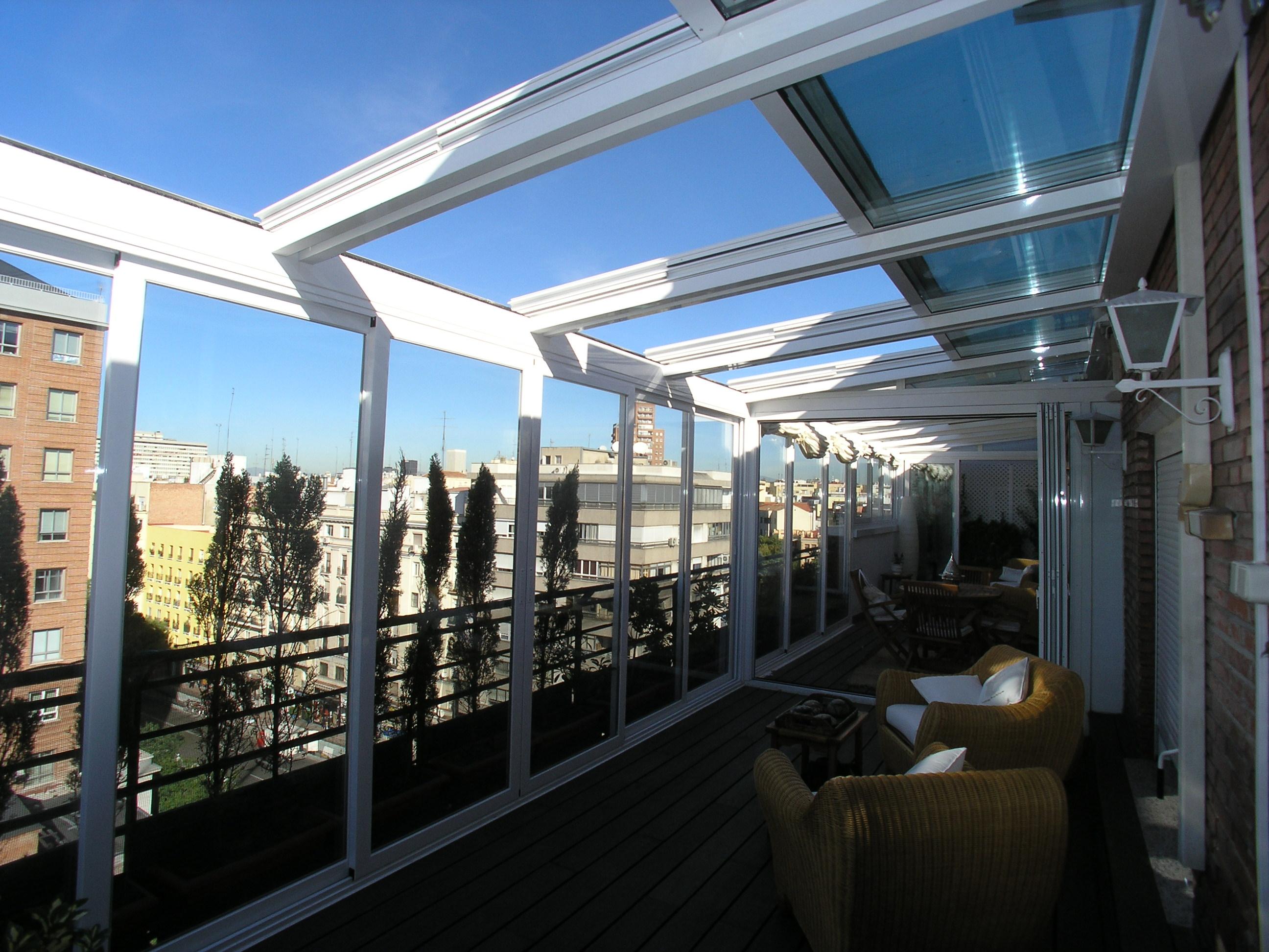 Techos de aluminio para terrazas car interior design - Estructuras de aluminio para terrazas ...