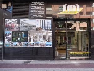 Fachada de IMI en Logroño