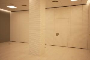 Paneles interiores especiales para garantizar el mejor aislamiento acústico.