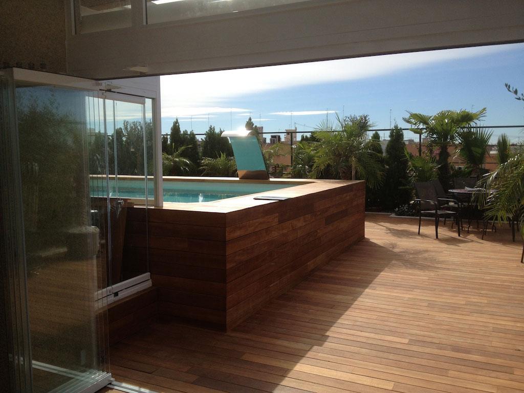 Ticos imi for Aticos con piscina