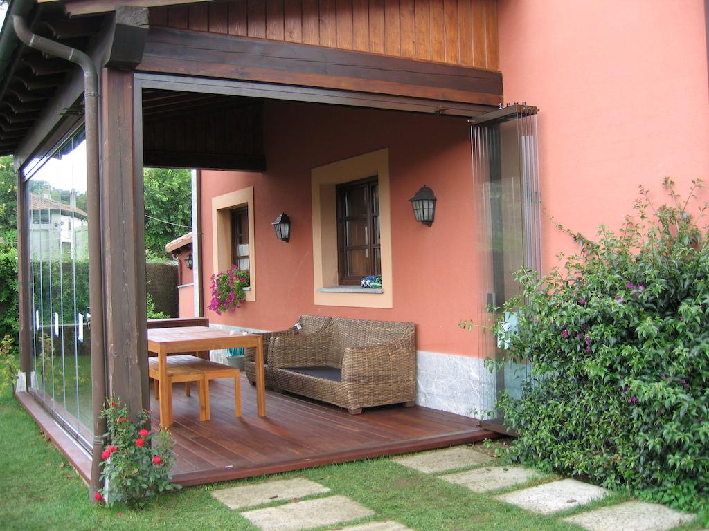Cerramientos de porches porches y p rgolas de madera imi - Pergolas y porches de madera ...