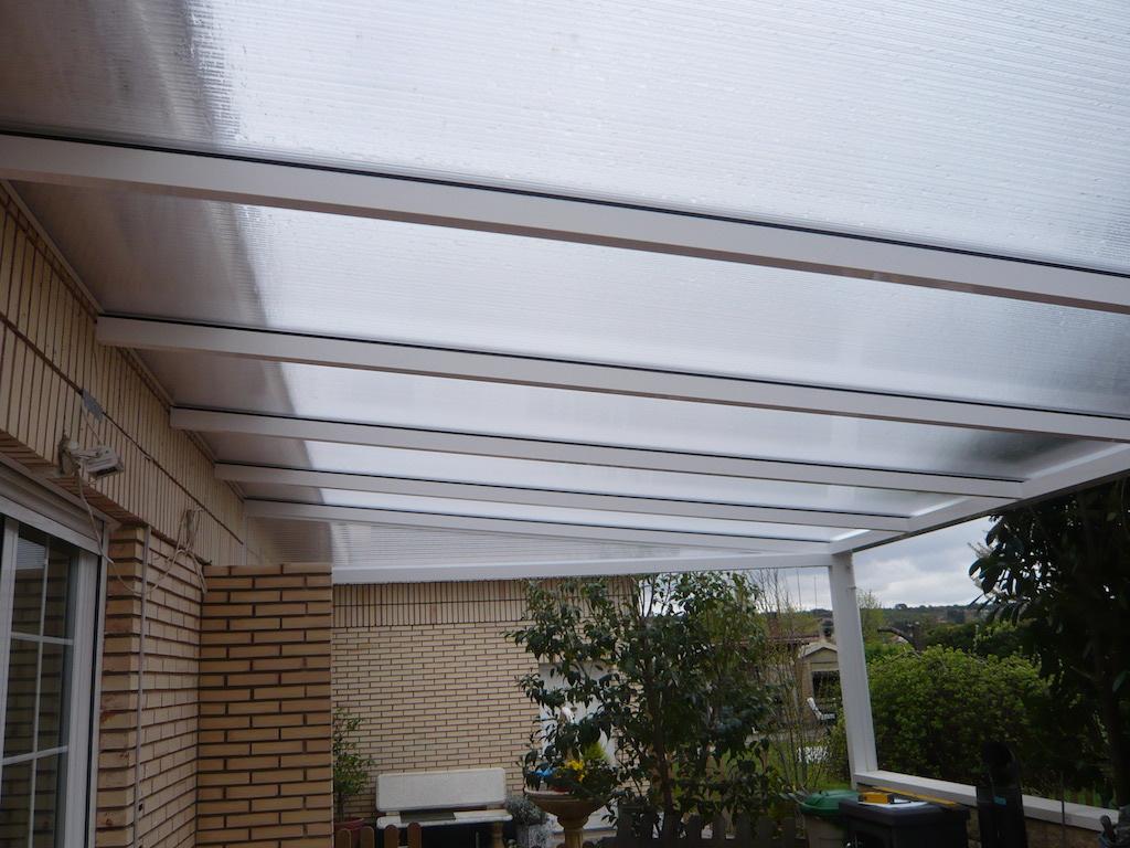 Techos transparentes para terrazas dise os for Techos de terrazas